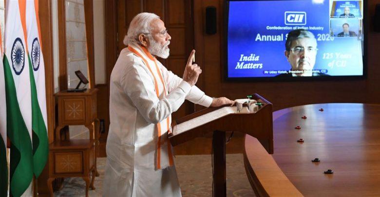PM inaugurates Annual Session of CII