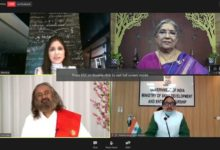 Webinar on Yoga held