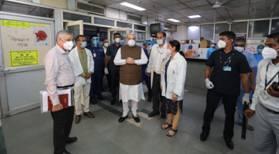 Shah at LNJP Hospital