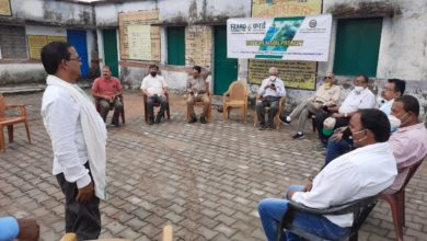 FAARD team visits Sonbhadra villages