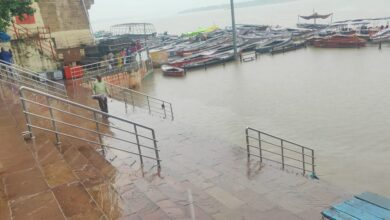 Boat operations stopped in Kashi