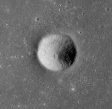 Moon Images of Sarabhai Crater