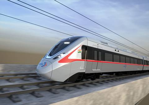First Look of India's First RRTS Train Unveiled