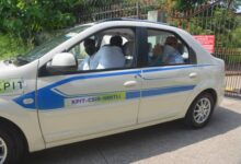 Hydrogen Fuel-Cell fitted car demonstrated