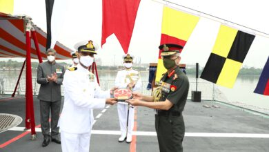 Army Chief Commissions INS-Kavaratti
