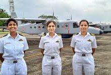 Navy Operationalizes First Batch of Women Pilots