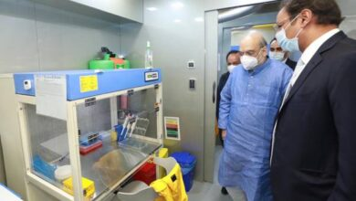 Shah inaugurates Mobile COVID-19 RT-PCR Lab