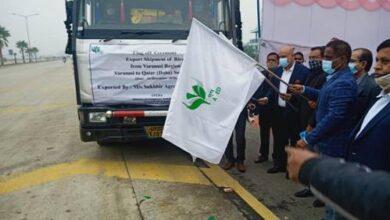 APEDA provides a platform to ship the rice consignment from Varanasi region