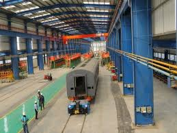 Production of first coach shell at Marathwada Rail Coach Factory