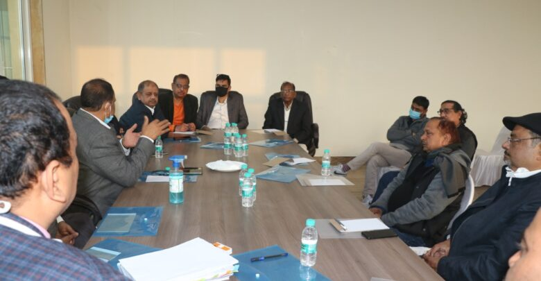 CEPC discusses Policy of Bhadohi-Carpet-Expo-Mart