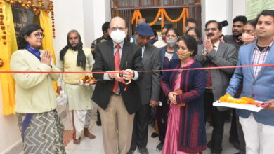 VC Prof. Rakesh Bhatnagar inaugurates the newly constructed building of School of Education