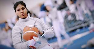 Bhavani Devi Scripts history as she became the 1st Indian fencer to qualify for Olympics