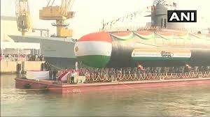 INS Karanj - third Kalvari class Submarine commissioned at Naval Dockyard in Mumbai