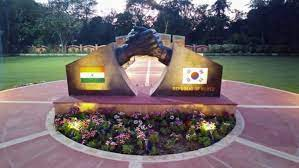 Indo-Korean Friendship Park to be inaugurated on Friday