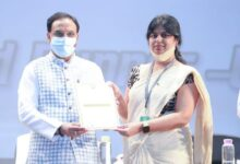 Union Education Minister presents AICTE Lilavati Awards 2020