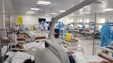 472 covid-19 patients were treated at Homi Bhabha Cancer Hospital