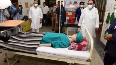 Dr Mahendra Nath Pandey visits PMKK Centers in Varanasi