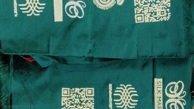 Now QR code and logo will tell the identity of genuine handloom Banarasi sarees