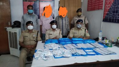 RPF nabs two with 28.5 Kg silver anklets