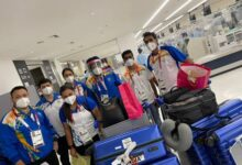 88-member Indian contingent including 54 athletes arrives in Tokyo